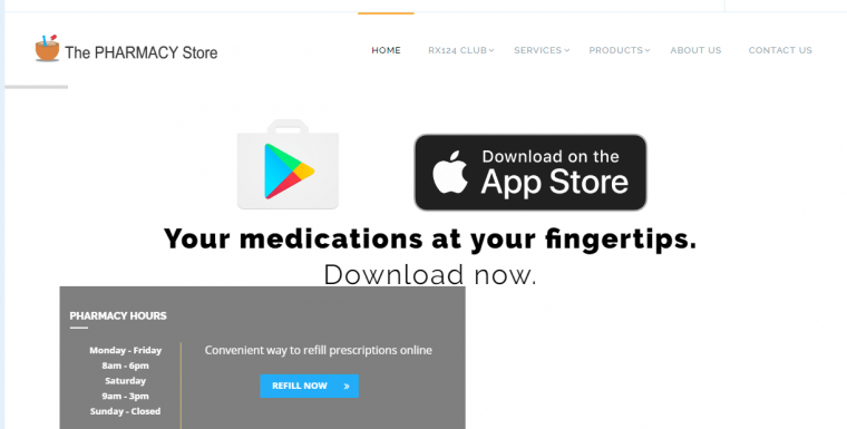 Pharmacy Store – Prescription Discounts and Free Deliveries