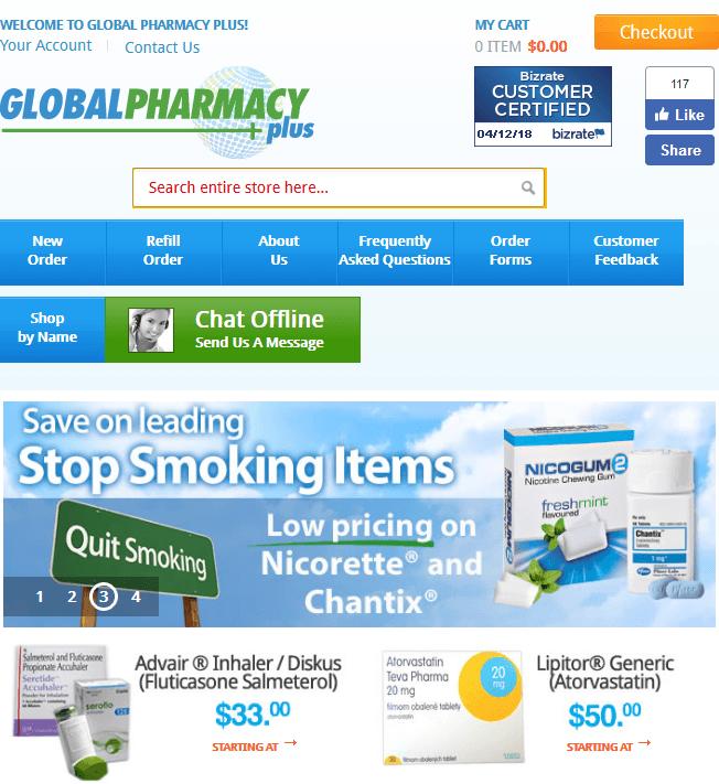 Global Pharmacy Plus Coupon