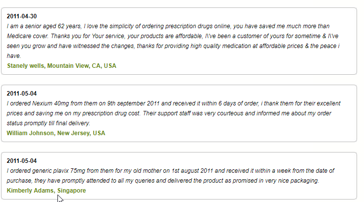 Safemeds4all Reviews (source: http://www