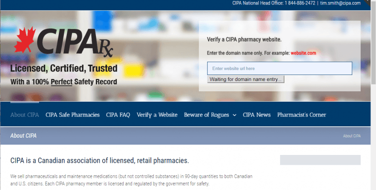 Online Pharmacy Canada: Locate a Safe Canadian Pharmacy Easily