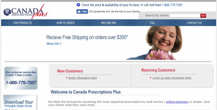 Canada Prescription Plus: An Online Pharmacy That Has It All
