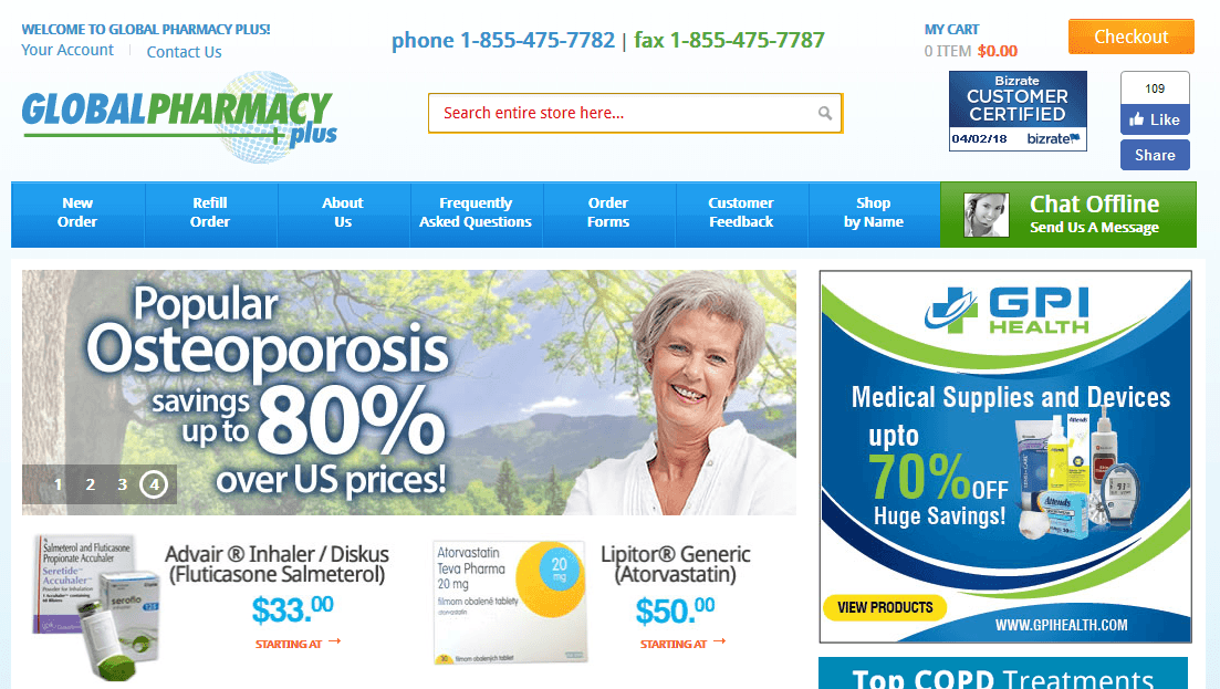 Global Pharmacy Plus – Read More on This Store Now