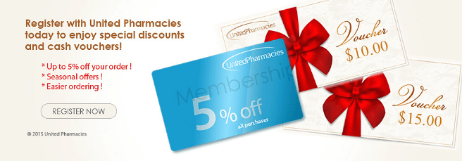 United Pharmacies Coupons Screenshot