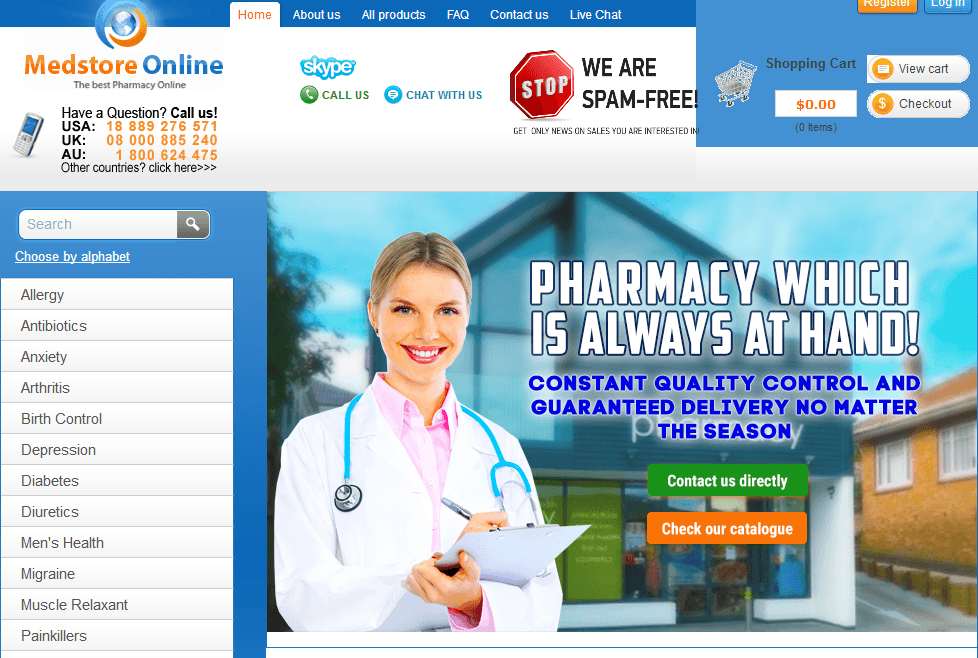 Medstore Online Reviews