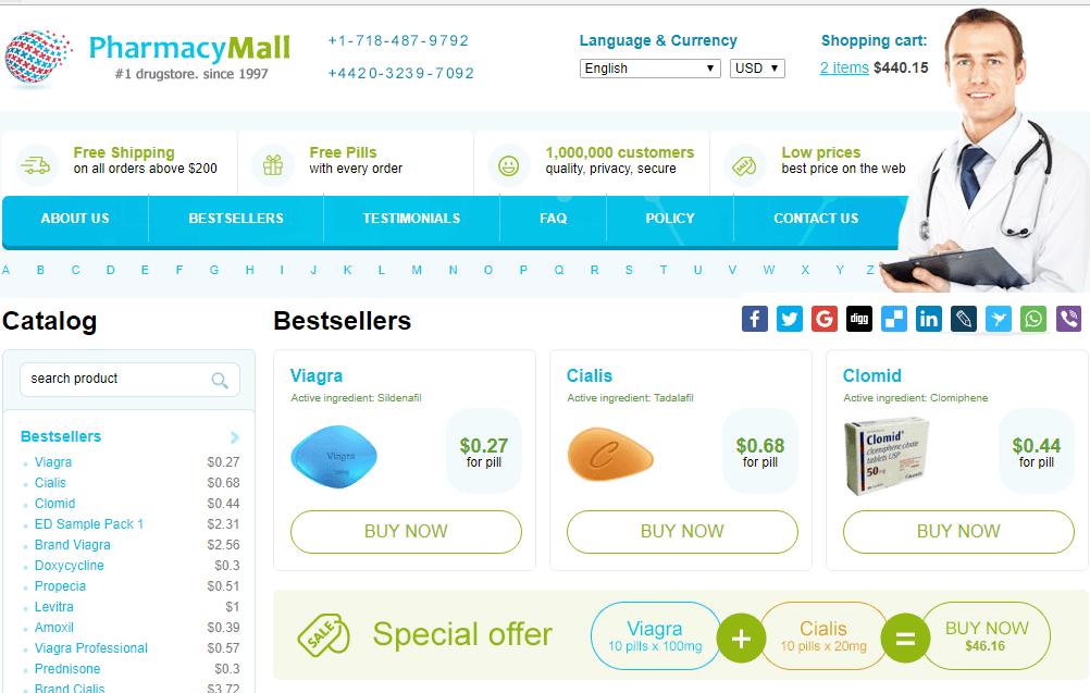 ED Meds from Pharmacy Mall
